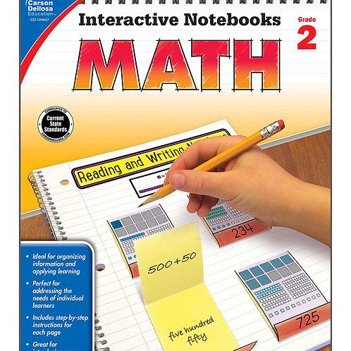 Interactive Notebooks: Math Grade 2