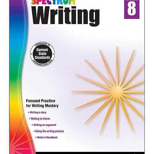 Spectrum Writing Workbook Grade 8