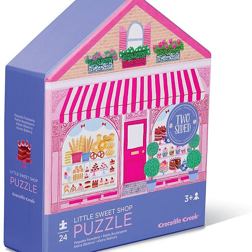 Little Sweet Shop Two Sided Puzzle