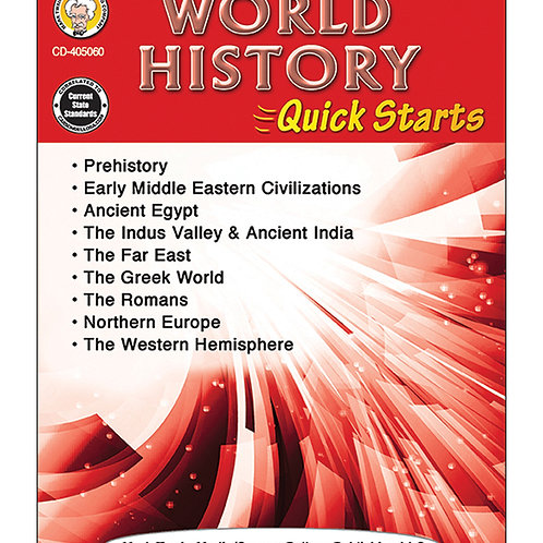 World History Quick Starts Grades 4-8
