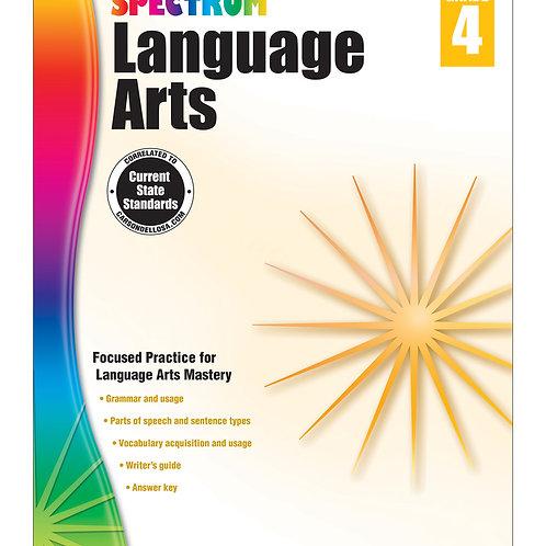 Spectrum Language Arts Workbook Grade 4