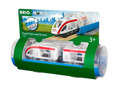 Travel Train & Tunnel BRIO