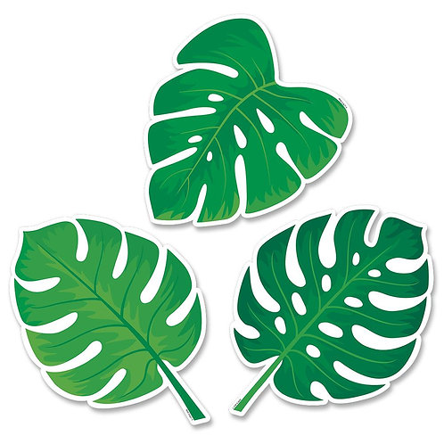 Monstera Leaves Cut-Outs