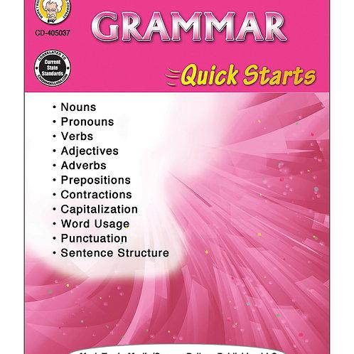 Grammar Quick Starts Grades 4-8