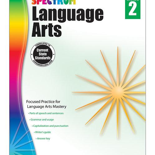 Spectrum Language Arts Workbook Grade 2