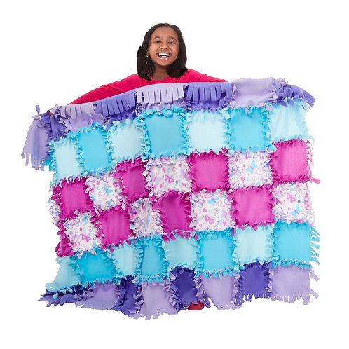 Created by Me - Butterfly Fleece Quilt