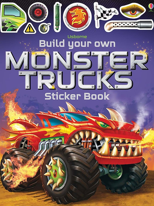 Build Your Own Monster Trucks Sticker Book