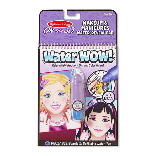 Water Wow! Makeup & Manicures Water-Reveal Pad