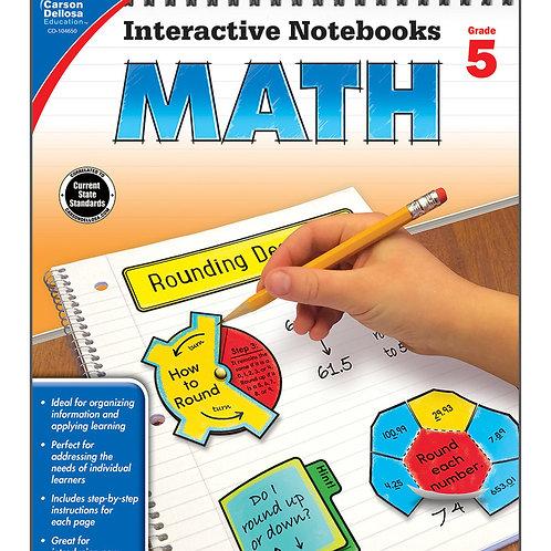Interactive Notebooks: Math Grade 5