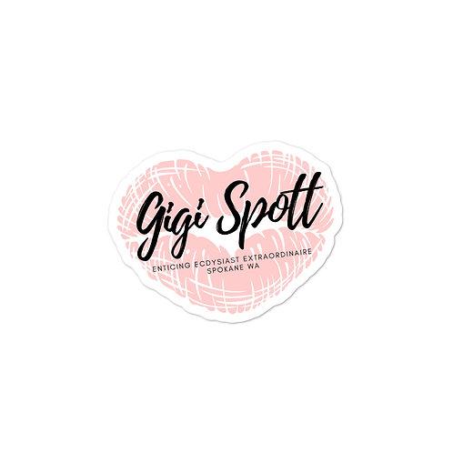 Gigi's Kiss Sticker