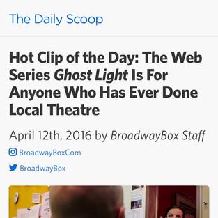 Broadway Box - GHOST LIGHT