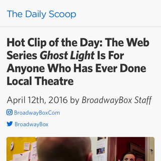 Broadway Box - GHOST LIGHT