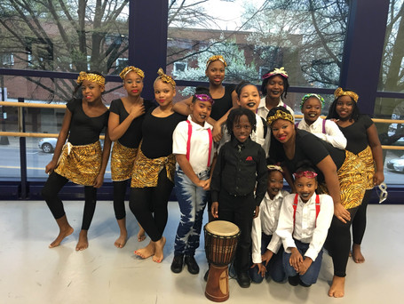MufukaWorks Square Root Youth pre-professionals dancers