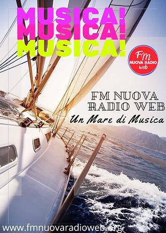 FM Nuova Radio Web, un mare di musica