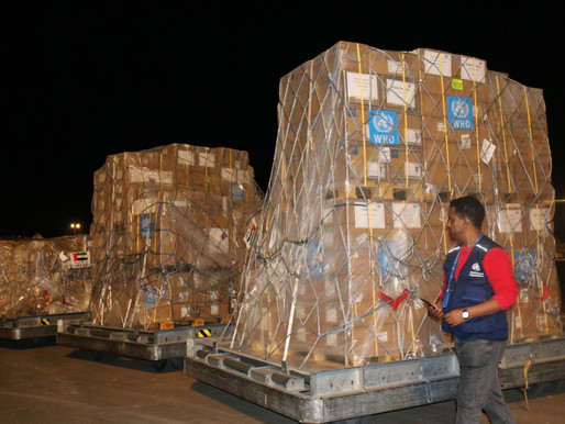 WHO, WFP and AU Deliver Supplies as COVID-19 Accelerates In West And Central Africa