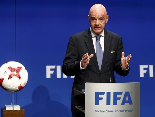 FIFA President Outlines Three immediate Priorities for football