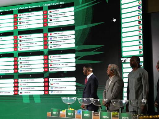 Schedule for 2021 Africa Cup of Nations qualification released