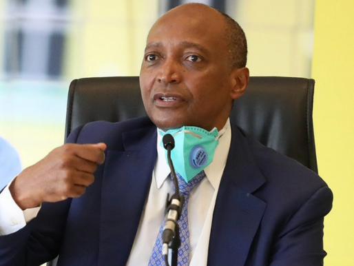 Motsepe becomes CAF's new President