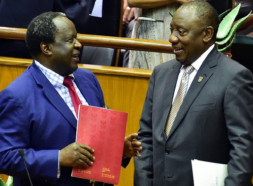 Ramaphosa reprimands finance minister over Zambia comments
