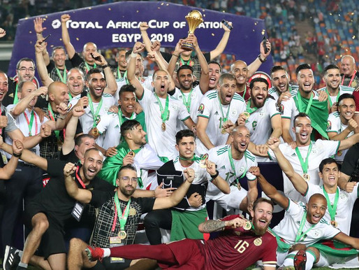 When Algeria won the 2019 Africa Cup of Nations