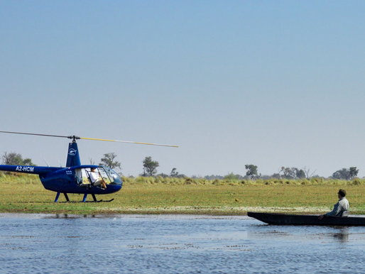 Helicopter Horizons: View the Okavango Delta From Above