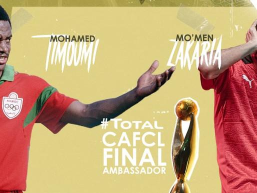 Timoumi, Zakaria are CAF Champions League final ambassadors