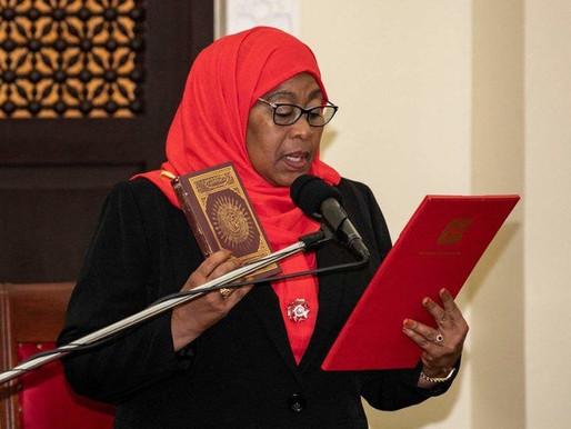 Samia Suluhu Hassan succeeds Magufuli - calls for Unity