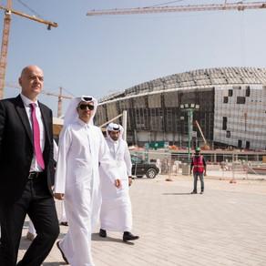 infantino praises Qatar's World Cup preparations