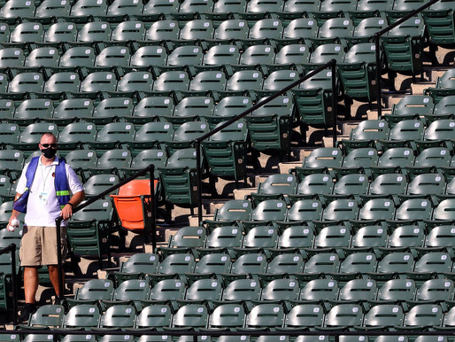 The COVID-19 pandemic may change spectator sports forever as stadiums sit empty