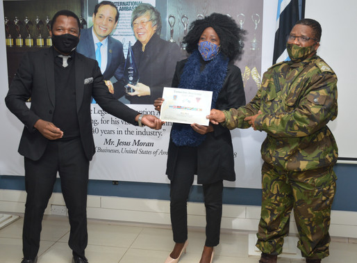 Limkokwing & BDF Collaborate 0n Students Training