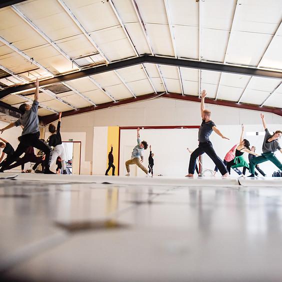Dance-Intensive mit Bruno Genty - Fortbildung für Tanzkunst und Komposition
