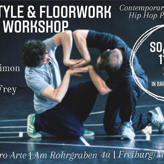 Joseph Simon & Jonas Frey - FREESTYLE & FLOORWORK WORKSHOP