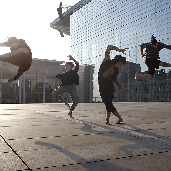 Workshop Contemporary, Hip Hop, Floorwork mit Frantics Dance Company