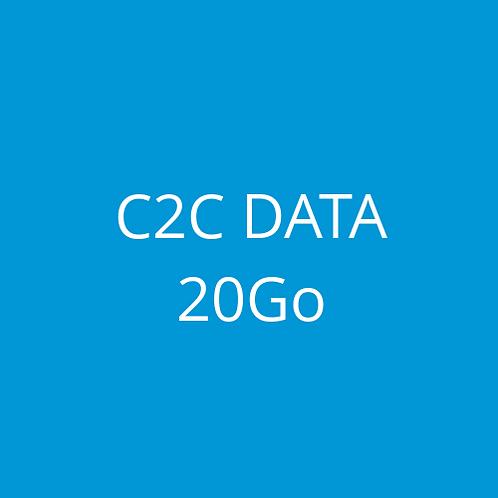 C2C DATA 20Go