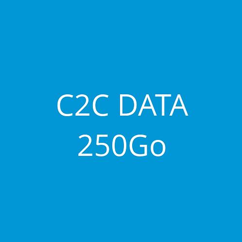 C2C DATA 250Go