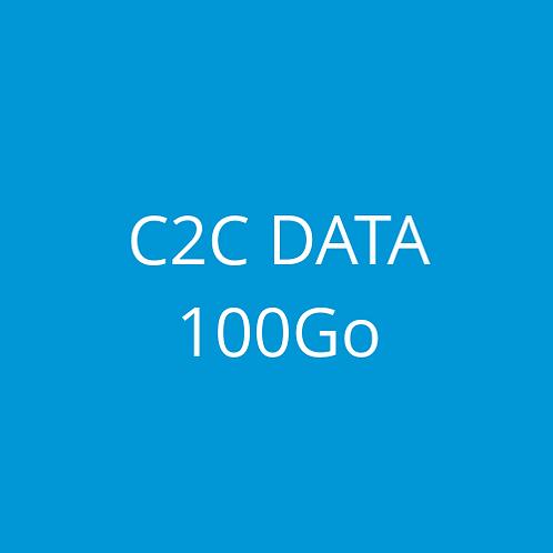 C2C DATA 100Go