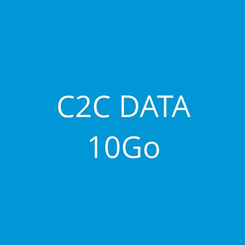 C2C DATA 10Go