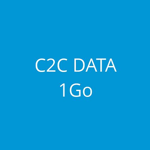 C2C DATA 1Go