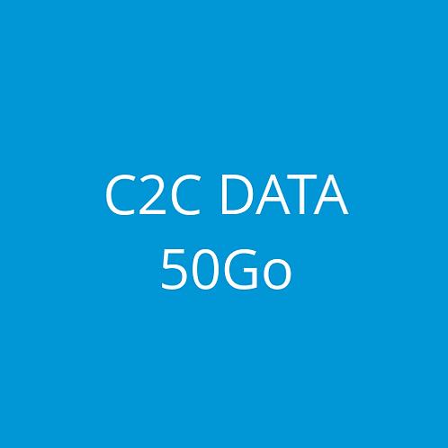 C2C DATA 50Go