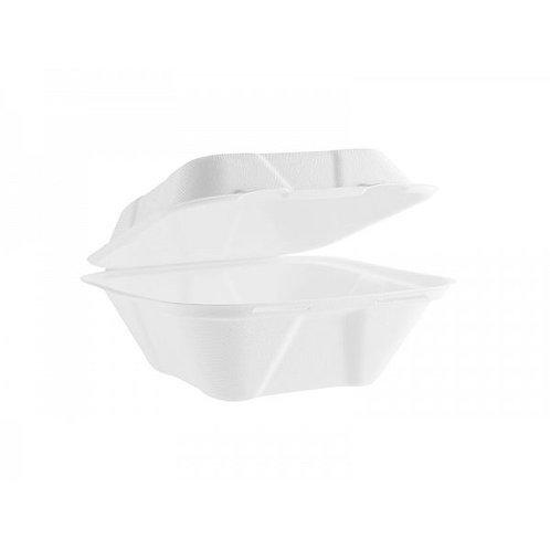 Коробка для їжі з багасси, 150 x 150 мм (50шт.)