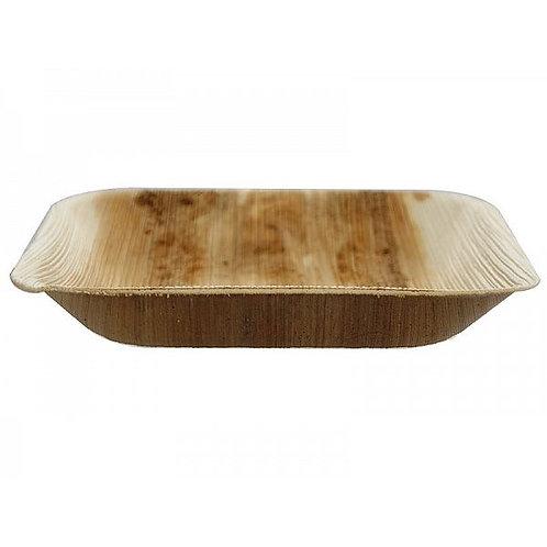 Квадратна тарілка з пальмового листя, 180 мм (12шт.)