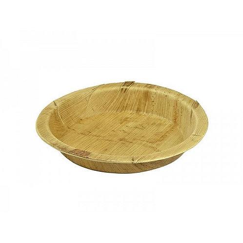 Кругла тарілка з пальмового листя, 180 мм (25шт.)