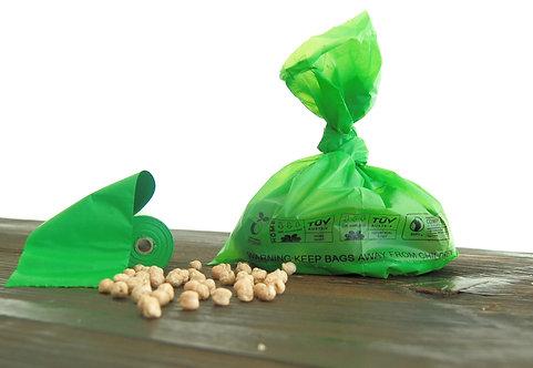 Крохмальні пакети для прибирання за домашніми улюбленцями