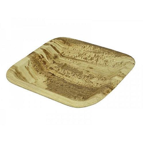 Квадратна тарілка з пальмового листя, 160 мм (25шт.)