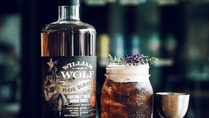 Signature cocktail collaboration with William Wolf