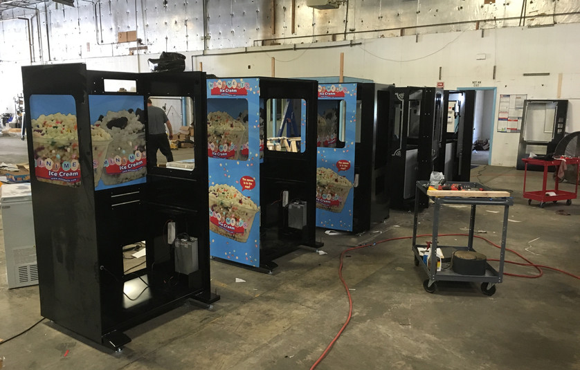 Vending Machine Assembly