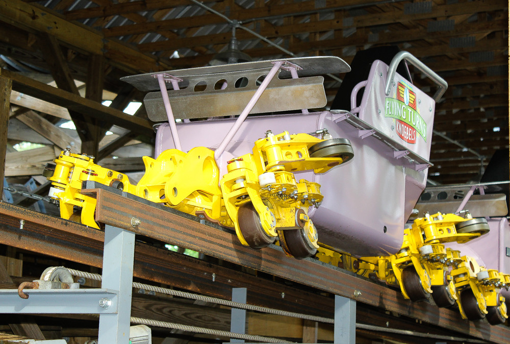 Knoebel's Flying Turns Bobsled Coaster