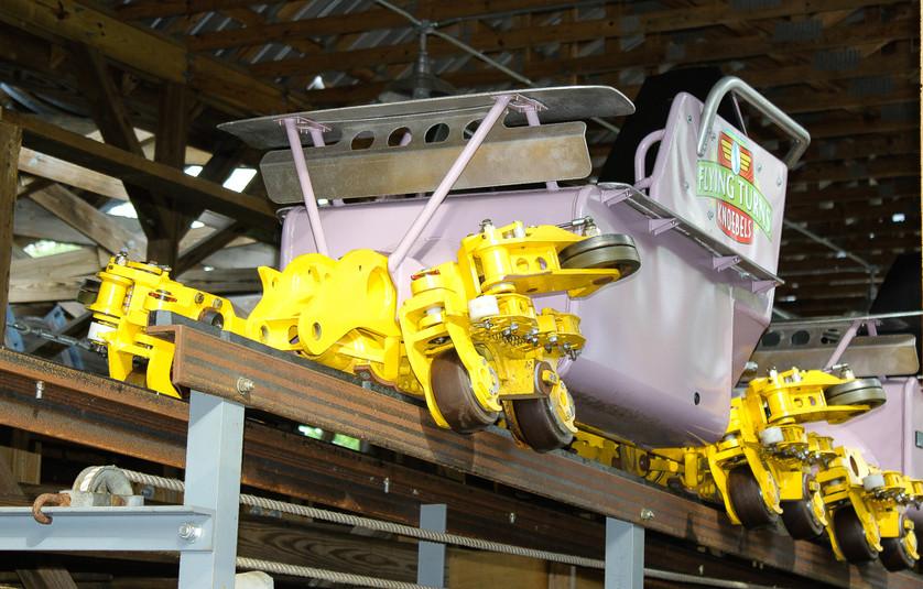 Knoebel's Flying Turns Bobsled Coaster