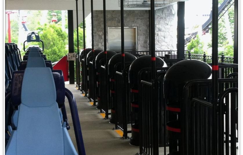 Hershey Park Skyrush Coaster