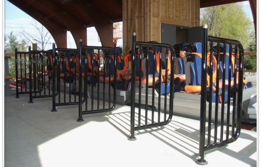 Hershey Fahrenheit Coaster Custom Queue
